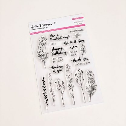 ETD Stamps - Evergreen Foliage