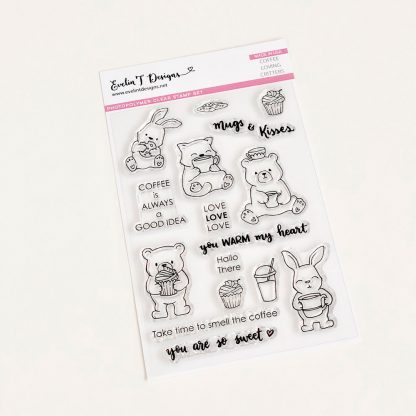 ETD Stamps - Coffee Loving Critters